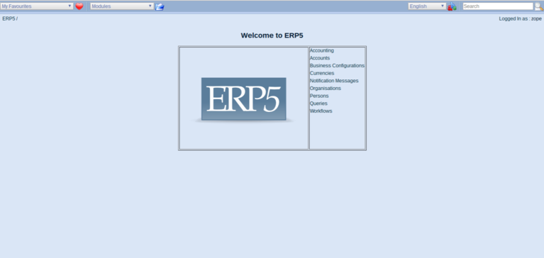Requesting a Webrunner with ERP5 - ERP5 Interface