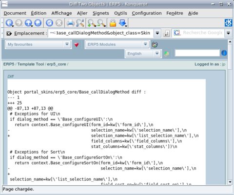 ERP5 HowTo | Display Source Code in ERP5 - Screenshot 2