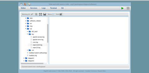 SlapOS   Open Source Cloud Deployment and Orchestration - Webrunner Log