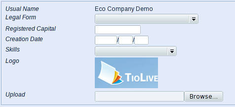 Upload Logo Dialog
