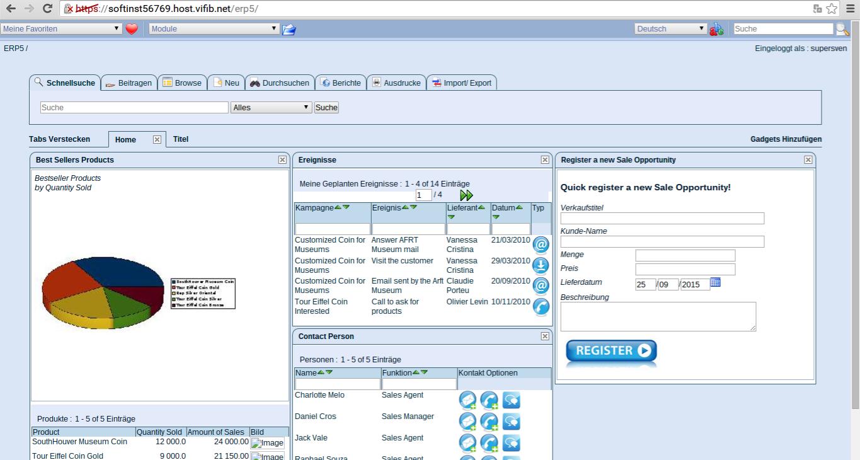 ERP5 Screenshot